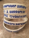 New White Bartter Syndrome Awareness Bracelets